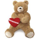3' Lil' Hunka Love® Bear with Huggable Heart Pillow image number 0