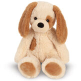 """15"""" Buddy Puppy - Front view of seated tan Puppy with brown ears and spot image number 2"""