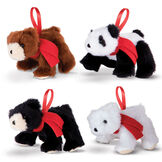 Wildlife Bear Ornaments Set image number 1