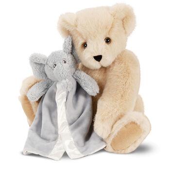 "15"" Cuddle Buddies Gift Set with Elephant Blankie"