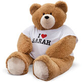 "4' Big Hunka Love® ""I HEART You"" T-Shirt Bear image number 0"