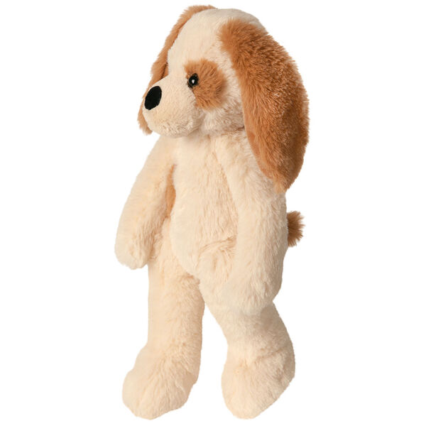 """15"""" Buddy Puppy  - Side View of standing slim tan Puppy with brown ears and spot image number 4"""