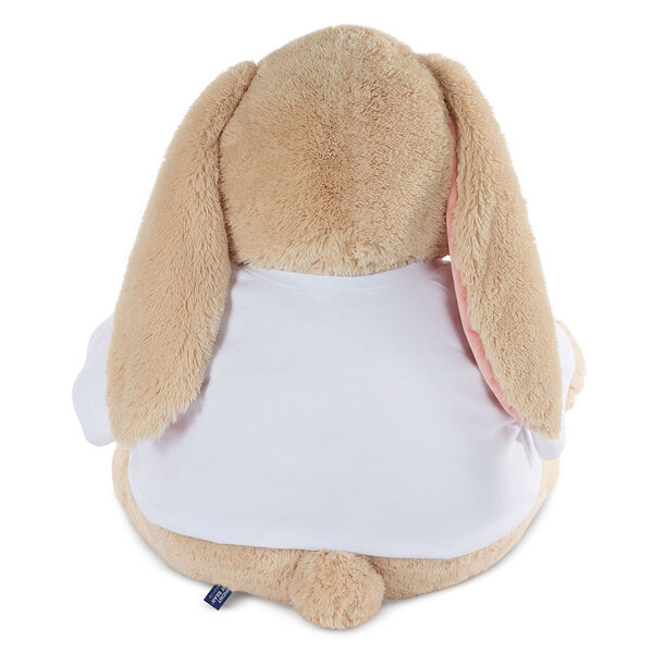 """4' """"I HEART You"""" T-Shirt Cuddle Bunny image number 2"""