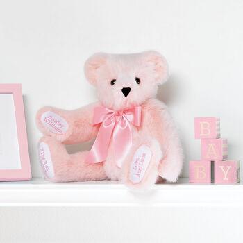 "15"" Premium Baby Girl Bear"