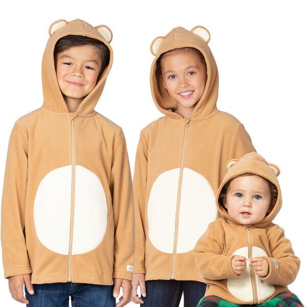 Children's Teddy Bear Hoodie Jacket image number 3