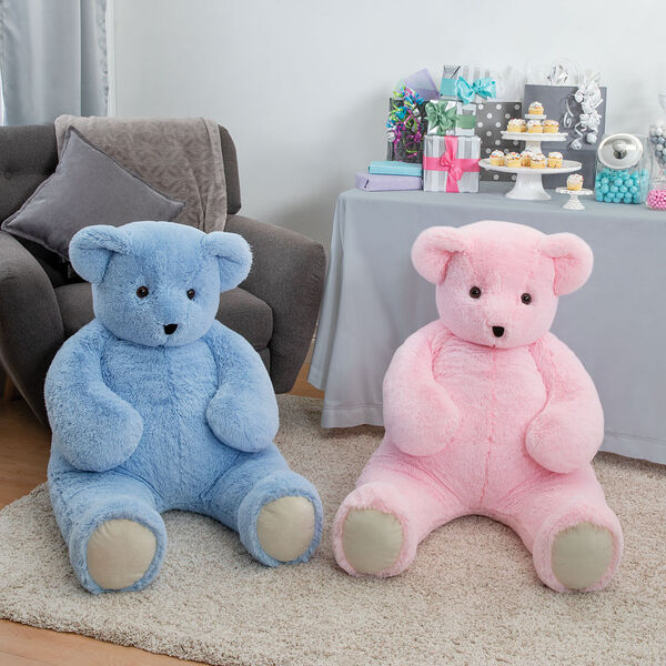 4' Pink Cuddle Bear image number 2