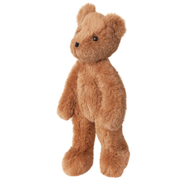 """15"""" Buddy Bear - Side view of slim honey color bear with brown eyes image number 5"""