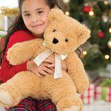 "20"" World's Softest Bear with Santa Hat image number 2"