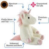 """18"""" Fluffy Fantasies Unicorn image number 3"""