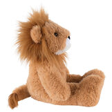 "18"" Oh So Soft Lion - Side view of seated 18"" brown lion with white muzzle  image number 4"