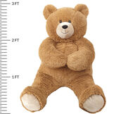 3' Lil' Hunka Love® Be Mine Bear image number 1