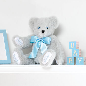 "15"" Premium Baby Boy Bear"