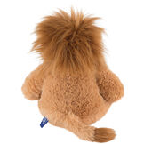 "18"" Oh So Soft Lion - Back view of seated 18"" brown lion with wild golden brown mane image number 8"