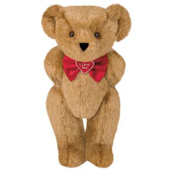 """15"""" """"I Love You"""" Bow Tie Bear"""