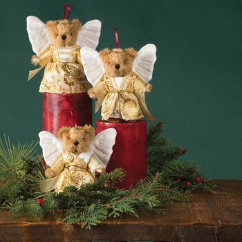 "4"" Classic Angel Ornament Collection"