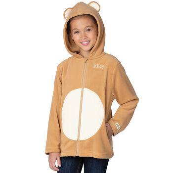 Children's Teddy Bear Hoodie Jacket