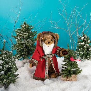 "15"" Limited Edition Woodland Santa Bear"