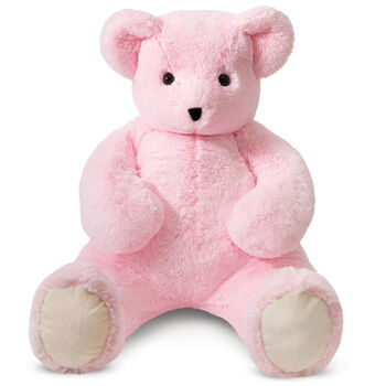 4' Pink Cuddle Bear