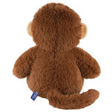 "18"" Oh So Soft Monkey - Back view of seated 18"" cinnamon brown monkey with tail and tan ears image number 7"
