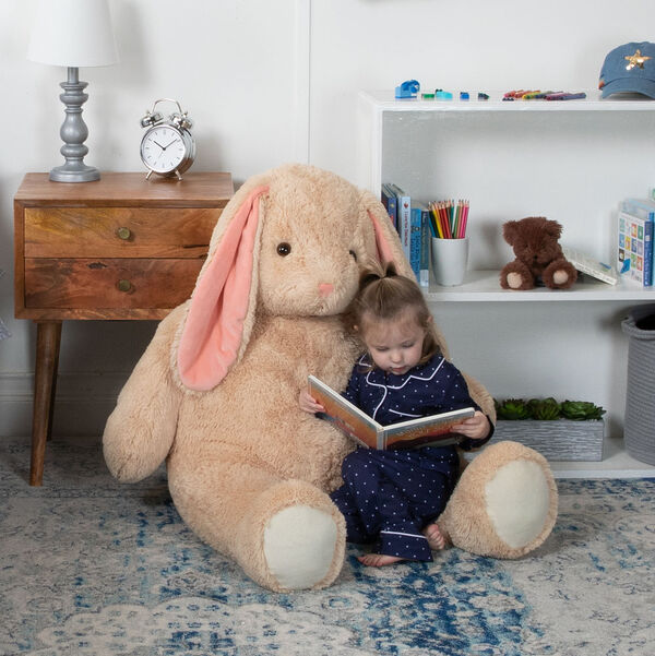 4' Cuddle Bunny image number 1