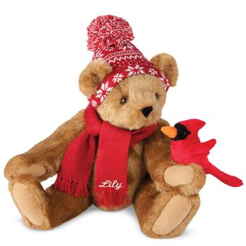 "15"" Season's Greetings Bear"
