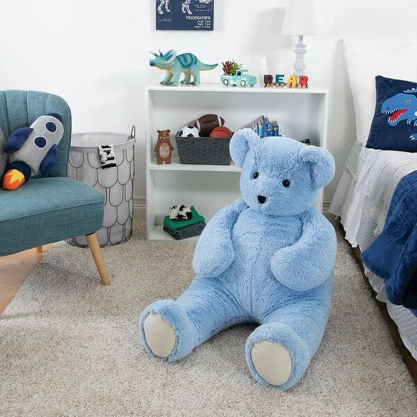 4' Light Blue Cuddle Bear image number 7
