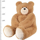 6' Giant Hunka Love® Bear with Bow Tie image number 3