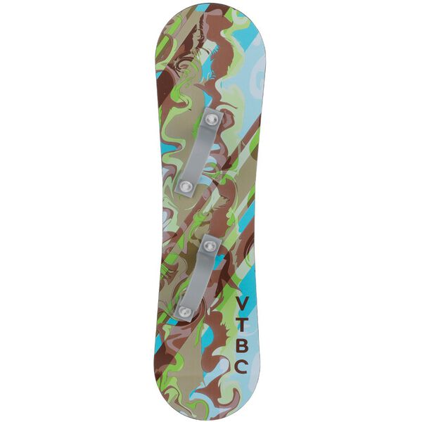 "Snowboard for 15"" bear with green, blue and brown graphics image number 0"