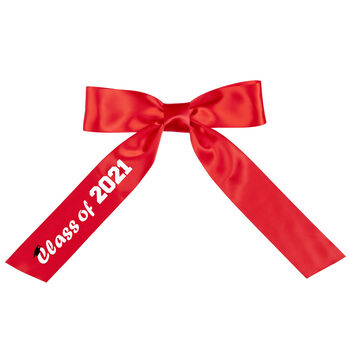 3' to 4' Class of 2021 Graduation Bow with Tails