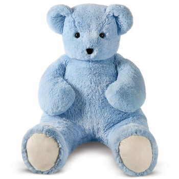4' Light Blue Cuddle Bear