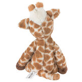 """15"""" Buddy Giraffe - back view of brown and tan print giraffe with dark brown hooves image number 1"""