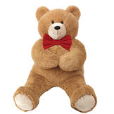 3' Lil' Hunka Love® Bear with Bow Tie image number 0