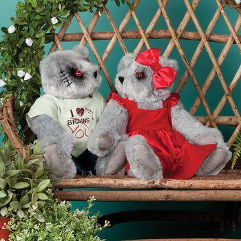 """15"""" Zombie Love & Zombie Sweetheart Bear"""