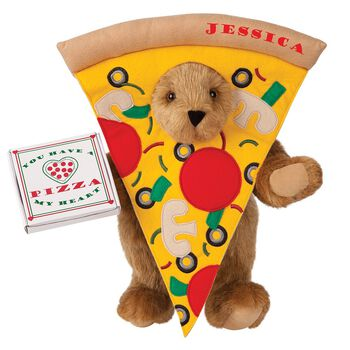 "15"" Pizza My Heart Bear"
