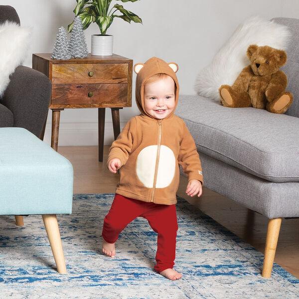 Children's Teddy Bear Hoodie Jacket image number 1