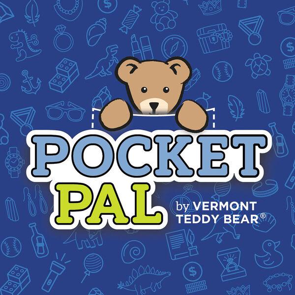 """18"""" Pocket Pal Bear - Front view of Pocket Pal hang tag image number 6"""