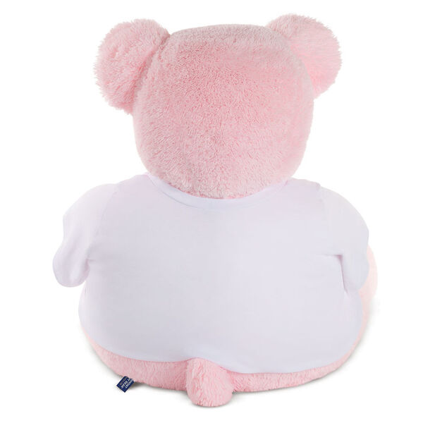 "4' ""I HEART You"" T-Shirt Pink Cuddle Bear image number 2"