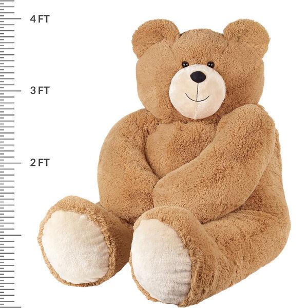 4' Big Hunka Love® Bear with Huggable Heart Pillow image number 3