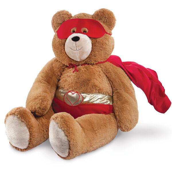 4' Big Hunka Love® Super Lover Bear image number 0