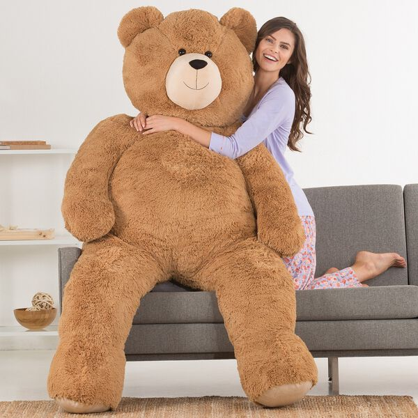 6' Giant Hunka Love® Bear image number 3