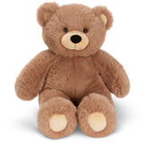 """18"""" Oh So Soft Teddy Bear - Front view of seated honey brown bear with tan muzzle and brown eyes image number 3"""