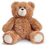 "18"" Love to the rescueandreg; Bear - Front view of seated fuzzy bear with brown eyes, tan muzzle and foot pads, black nose and smile image number 3"