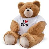 """6' Giant Hunka Love """"I Heart You"""" T-Shirt Bear image number 3"""