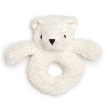 Teddy Bear Baby Rattle