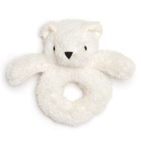 Teddy Bear Baby Rattle image number 0