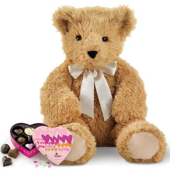 "20"" World's Softest Bear with Chocolates"