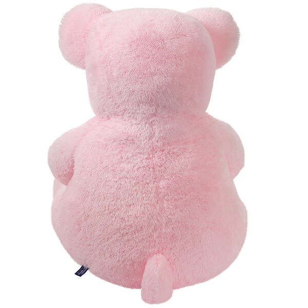 4' Pink Cuddle Bear image number 3