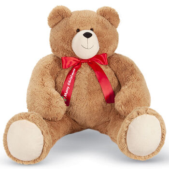 4' Big Hunka Love Bear with Merry Christmas Bow