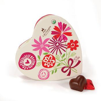 Heart Box of Chocolates - 6 pc.