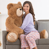 """4' """"Happy Mother's Day"""" Hunk Bear image number 2"""
